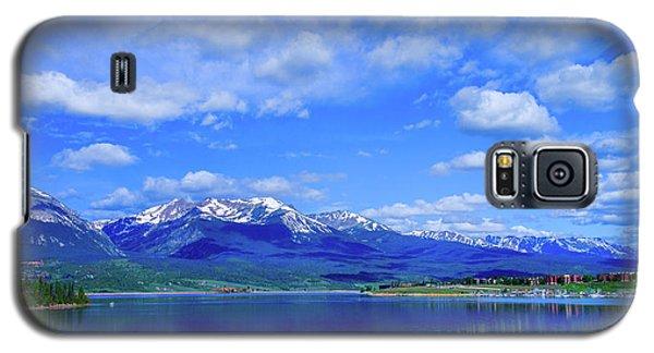 Colorado Mountains Behind Lake Dillon Galaxy S5 Case