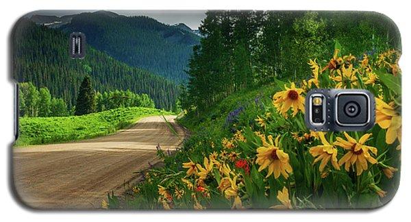 Colorado Wildflowers Galaxy S5 Case