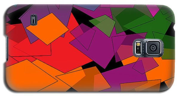 Colorful Chaos Galaxy S5 Case