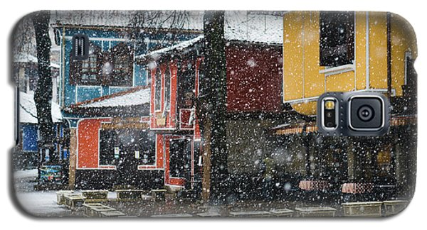 Colorful Koprivshtica Houses In Winter Galaxy S5 Case