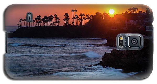 Colorful Laguna Beach Sunset Galaxy S5 Case
