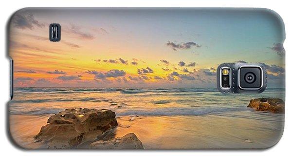 Colorful Seascape Galaxy S5 Case