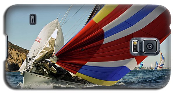 Colorful Spinnaker Run Galaxy S5 Case