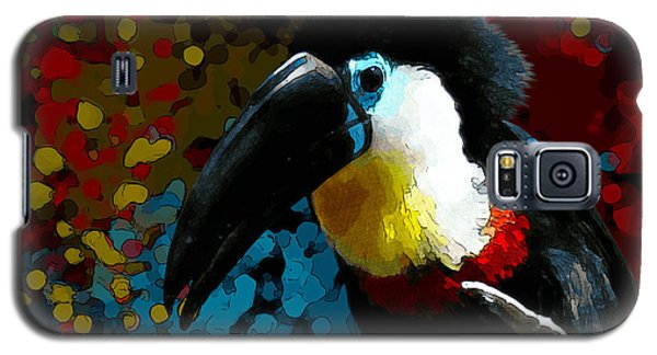 Colorful Toucan Galaxy S5 Case