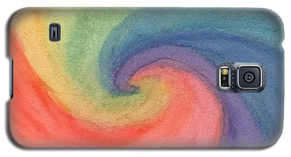 Colorful Wave Galaxy S5 Case