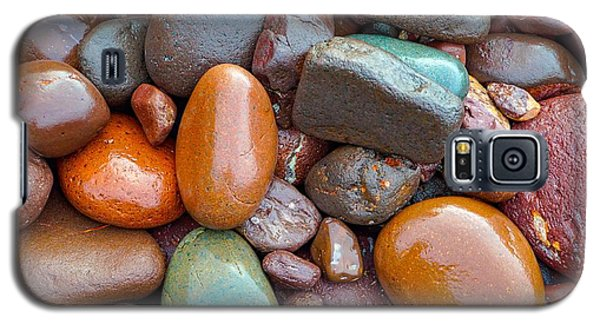 Colorful Wet Stones Galaxy S5 Case