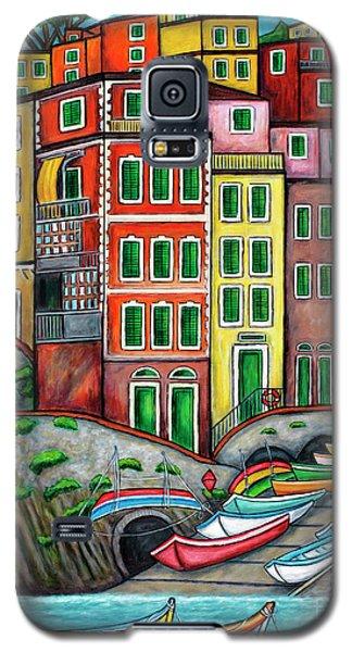 Colours Of Riomaggiore Cinque Terre Galaxy S5 Case