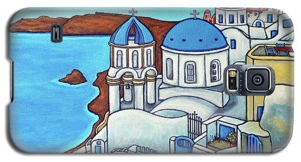 Colours Of Santorini Galaxy S5 Case