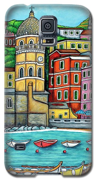 Colours Of Vernazza Galaxy S5 Case