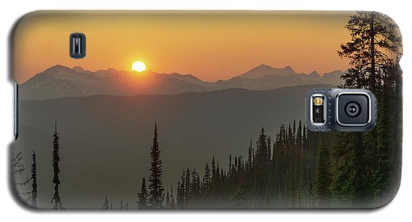 Columbia Mountain Sunset Galaxy S5 Case