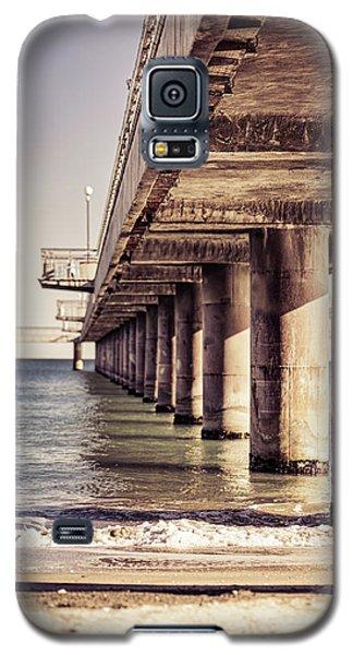 Columns Of Pier In Burgas Galaxy S5 Case