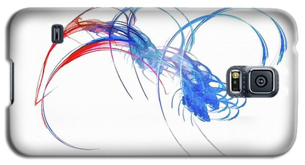 Coming For You Blue Galaxy S5 Case
