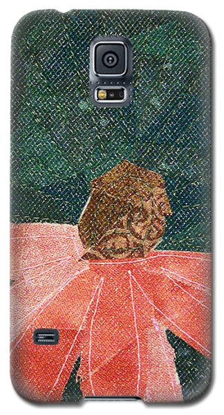 Cone Flower Galaxy S5 Case
