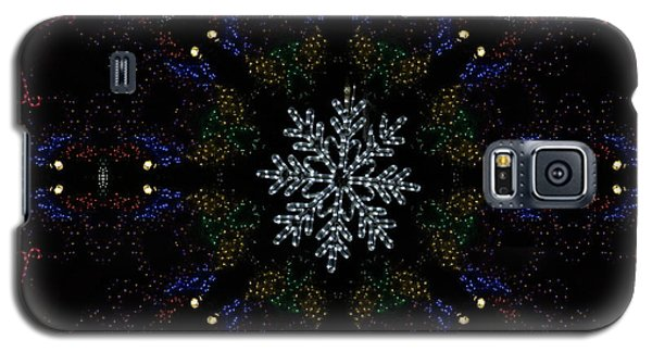 Continuous Christmas Lights Galaxy S5 Case
