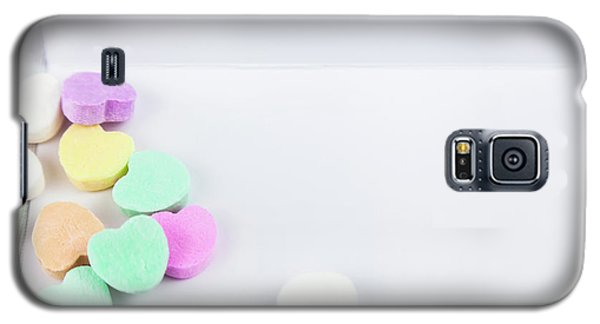 Conversation Hearts On A Notecard Galaxy S5 Case