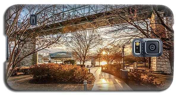 Coolidge Park Path At Sunset Galaxy S5 Case