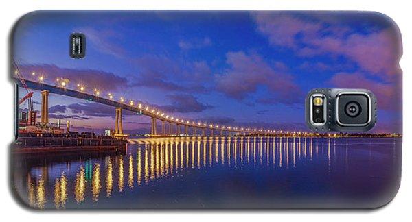 Coronado Bridge Sunrise - Panorama Galaxy S5 Case