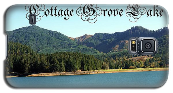 Galaxy S5 Case featuring the photograph Cottage Grove Lake by Ben Upham III