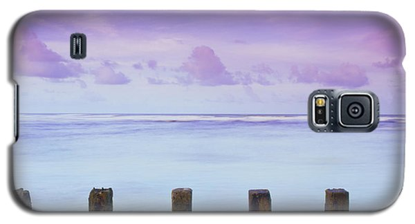 Cotton Candy Skies Over The Sea Galaxy S5 Case