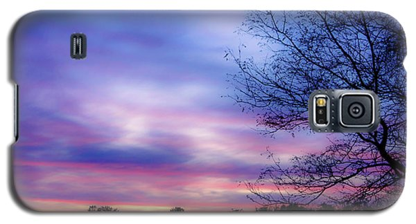 Cotton Candy Sunset In October Galaxy S5 Case