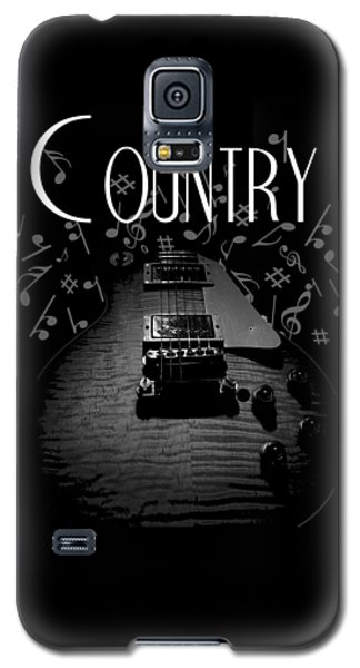 Country Music Guitar Music Galaxy S5 Case