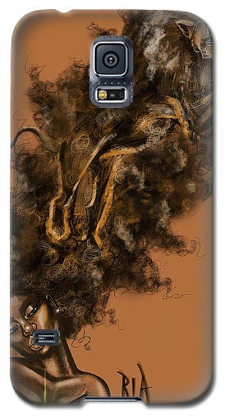 Galaxy S5 Case - Courageous Me by Artist RiA