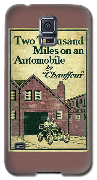 Cover Design For Two Thousand Miles On An Automobile Galaxy S5 Case