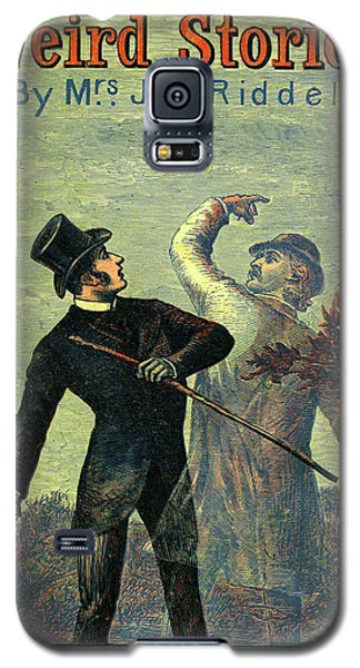 Victorian Yellowback Cover For Weird Stories Galaxy S5 Case