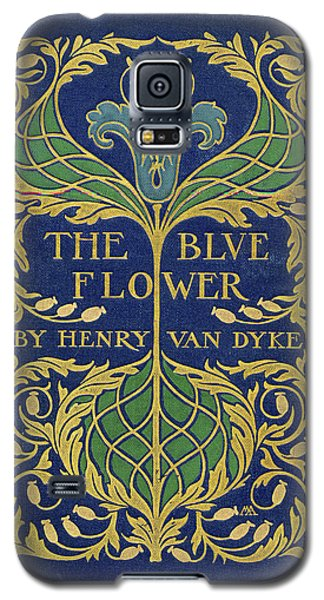 Cover Design For The Blue Flower Galaxy S5 Case