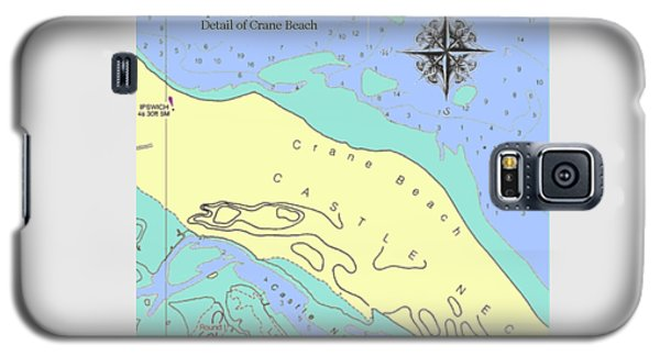 Crane Beach Galaxy S5 Case