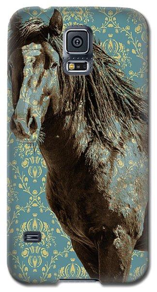 Crazy Blue Galaxy S5 Case
