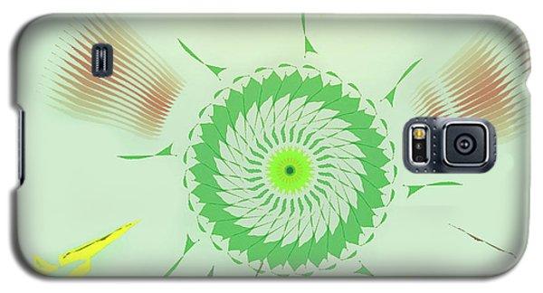 Crazy Spinning Flower Galaxy S5 Case