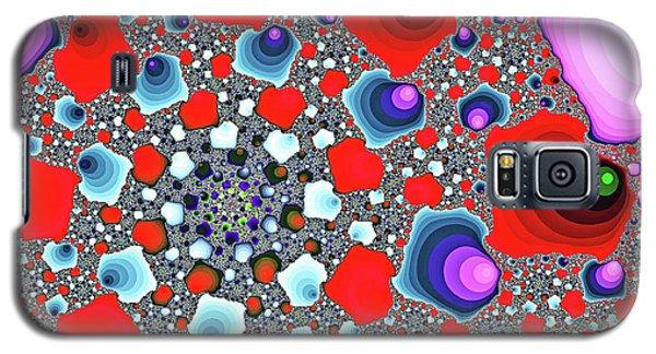 Creative Spiral Abstract Art Galaxy S5 Case