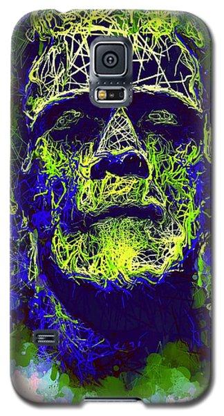 Frankenstein Watercolor Galaxy S5 Case