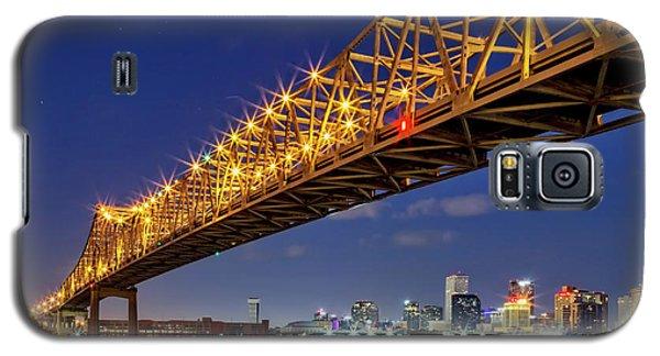 The Crescent City Bridge, New Orleans  Galaxy S5 Case