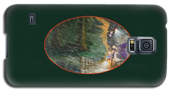 Crossing Timber Bridge Galaxy S5 Case
