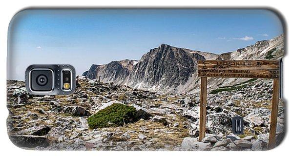 Crossroads At Medicine Bow Peak Galaxy S5 Case