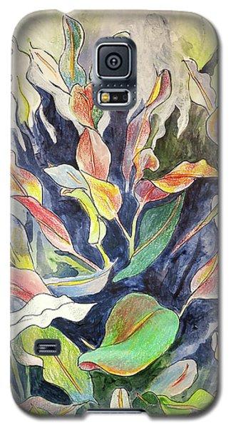 Croton Plant Galaxy S5 Case