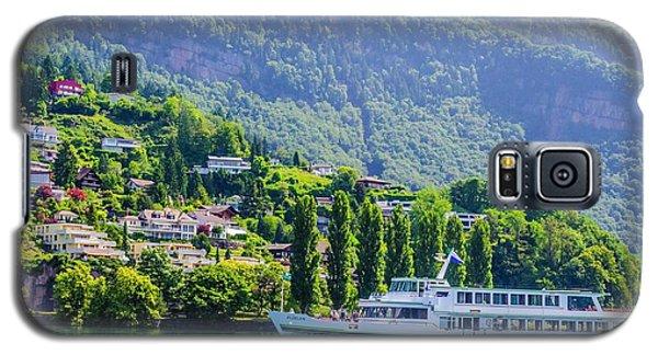 Cruising Lake Lucerne Galaxy S5 Case