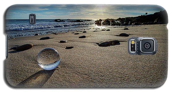 Crystal Ball Sunset Galaxy S5 Case