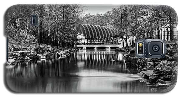 Crystal Bridges Museum River Trail - Monochrome 1x1  Galaxy S5 Case