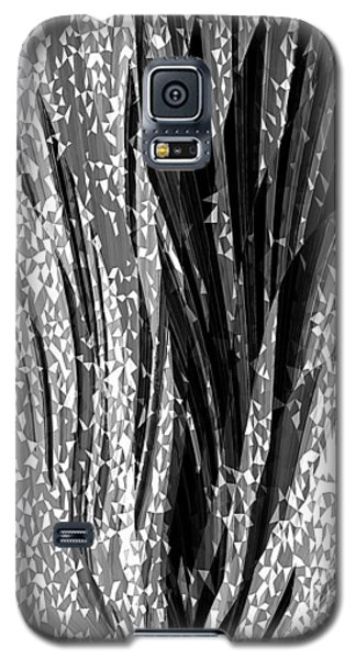 Crystal Floral Black Opposite Galaxy S5 Case