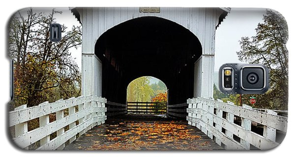 Curin Covered Bridge 1 Galaxy S5 Case