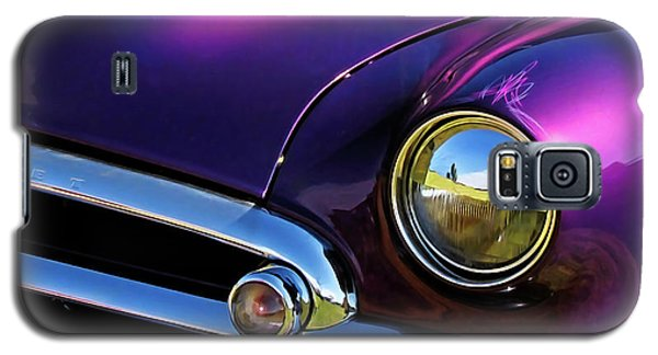 Custom Purple Chevy Galaxy S5 Case