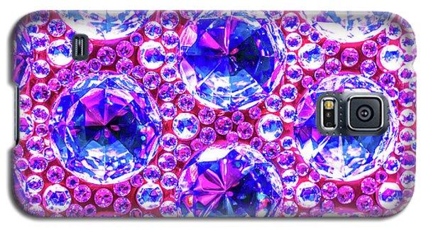 Cut Glass Beads 4 Galaxy S5 Case