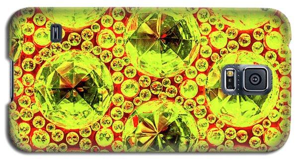 Cut Glass Beads 5 Galaxy S5 Case