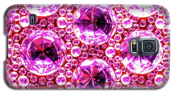 Cut Glass Beads 6 Galaxy S5 Case