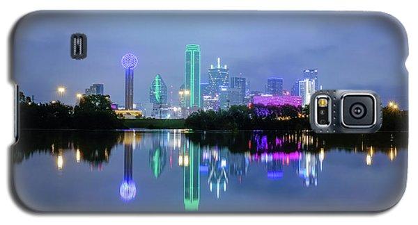 Dallas Cityscape Reflection Galaxy S5 Case