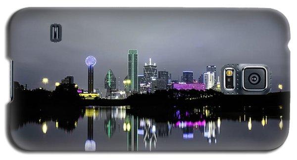 Dallas Texas Cityscape River Reflection Galaxy S5 Case