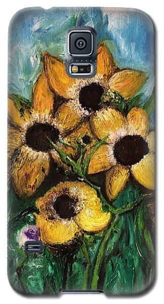 Dancing Flowers Galaxy S5 Case